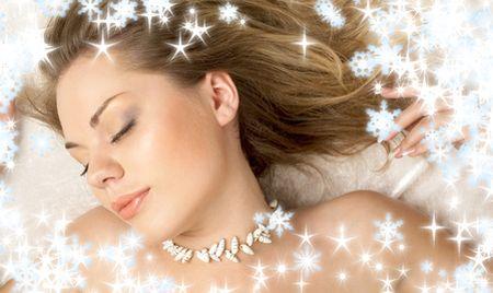 christmas dream of seashell girl