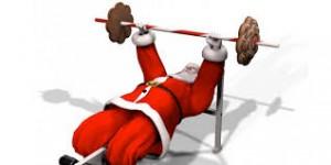 Santa pupmping iron